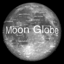 Moon Globe By Midnight Martian