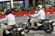 You call the traffic police 'pandu' and 'kaka'