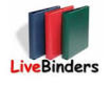 Organize your resources in an online binder - LiveBinders