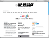 WP-Drudge WordPress template for news aggregation and content curation