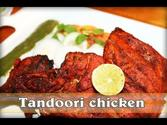 Tandoori Chicken In Microwave And Green Chutney