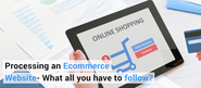 Want to sell your products online? Prepare yourself first