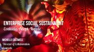 LavaCon 15 Dynasty - Enterprise Social Sustainment - Evaluate Aadopt Iterate