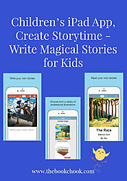 Children's iPad App, Create Storytime