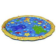 Banzai 54in-Diameter Sprinkle and Splash Play Mat (Ages 1 1/2 and up)