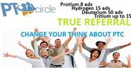 PTCircle - Click. View. Enjoy Earn money.