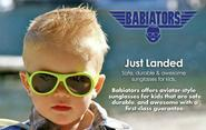 Babiators Unisex Baby Infant Junior Kids Sunglasses