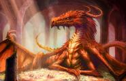 Smaug in The Hobbit