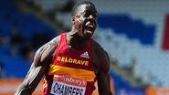Chambers wins British 100m title