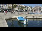 Sanary France Wooden Boats Video Sanary-sur-mer Pointu