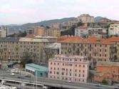 Arriving in Savona, Italy