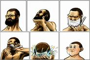 Coz shaving makes you look stupid...don't you think