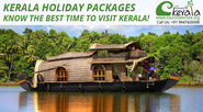 Kerala Holiday Packages - Know the Best Time To Visit Kerala!