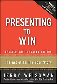 Top Storytelling Books via @YouBrandInc | Presenting to Win: The Art of Telling Your Story, Updated and Expanded Edition