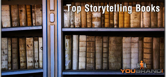 Headline for Top Storytelling Books via @YouBrandInc