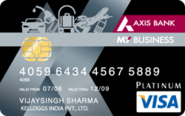 My Business Credit Card - Axis Bank