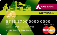 My Wings Credit Card - Axis Bank