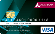 Signature Credit Card - Axis Bank