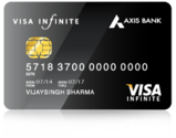 Axis Bank Visa Infinite Credit Card