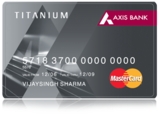 Axis Bank Titanium Smart Traveler Credit Card
