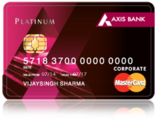 Axis Bank Platinum Credit Card