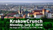Announcing KrakowCrunch On July 7