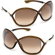 Tom Ford Whitney TF 9 692 Dark Brown / Brown Gradient