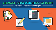 6 reasons to use design contest script to create a website like 99designs