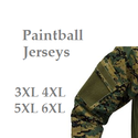 Best Paintball Jerseys 3XL 4XL 5XL XXL