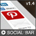 WordPress - Sticky Social Bar | CodeCanyon