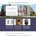 Best Electronic Keypad Deadbolts Reviews