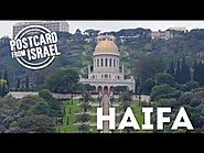 Postcard from Israel - Haifa
