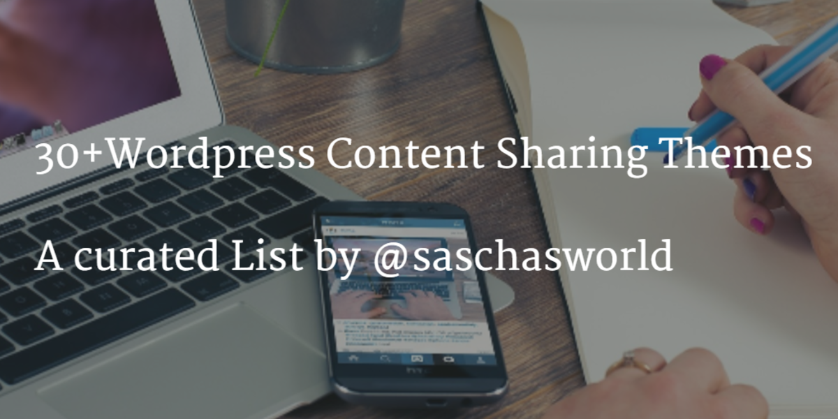 Headline for Wordpress Content Sharing Themes