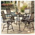 Courtyard Creations STS5X19 5-Piece Valencia Hi Dining Set