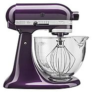 KitchenAid 5-Quart Artisan Design Series Stand Mixer KSM155GB: Plumberry