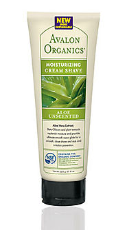 ALOE Unscented Moisturizing Cream Shave