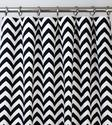 Best Black and White Chevron Shower Curtain