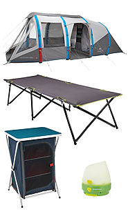 Love Summer With The Decathlon Family Camping Range