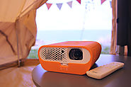 Watch A Movie Under The Stars With The Incredible BenQ GS1 Camping Projector