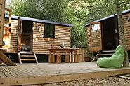 NEWS | Unique New Shepherd Hut Glamping On The Isle of Wight