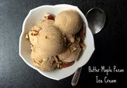 Butter maple pecan icecream
