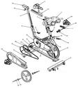 Exercise bike repair | Indoor cycle parts | Star Trac parts online | Star Trac Pro 7070 Indoor Cycle parts | repair a...