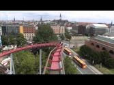 Daemonen Roller Coaster POV Onride Video The Demon Tivoli Gardens Copenhagen Denmark
