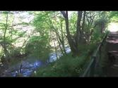 The water of Leith Edinburgh, Scotland -Balerno to Leith. Part 1 (Accompanied by music)