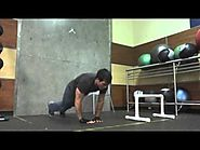 Triceps routine: Calisthenics