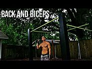 Creative Calisthenic back and bicep workout