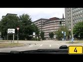 Driving in Hamburg, Germany [HD720p] In & Out on the Autobahn