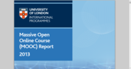 Massive Open Online Course (MOOC) Report 2013