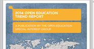 2014 OPEN EDUCATION TREND REPORT