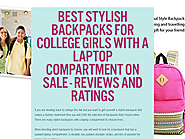 Best Stylish Backpacks For College Girls With A Laptop Compartment On Sale - Reviews And Ratings